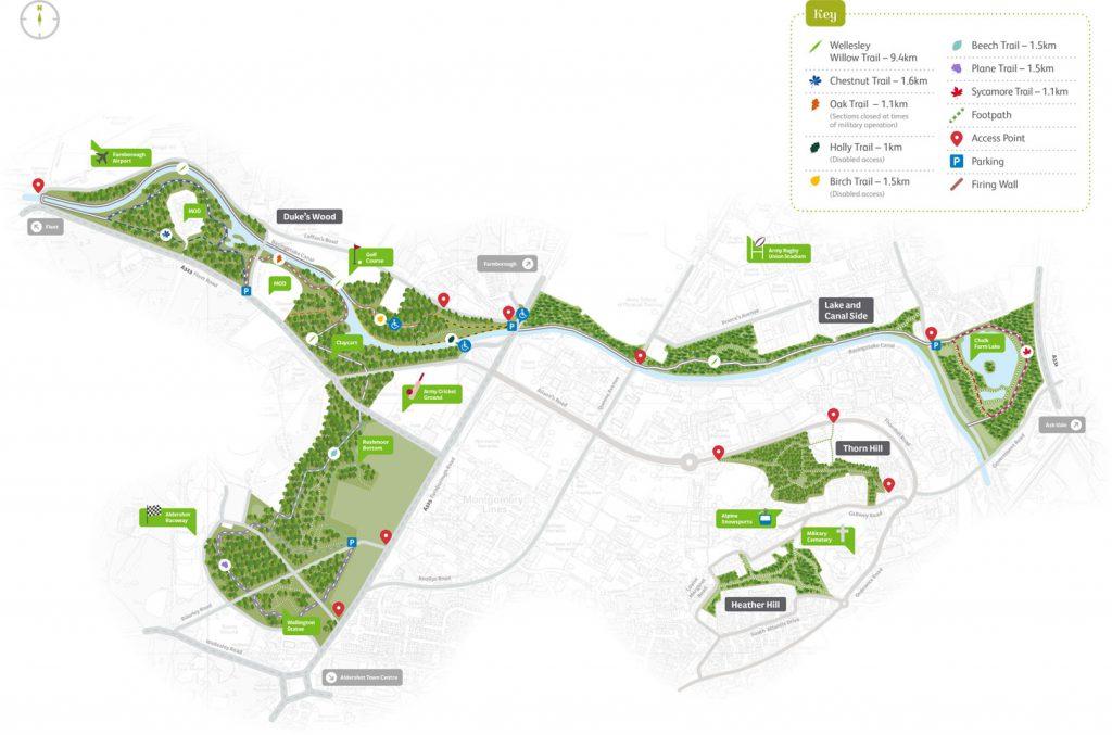 Wellesley Woodlands Map © Wellesley Woodlands
