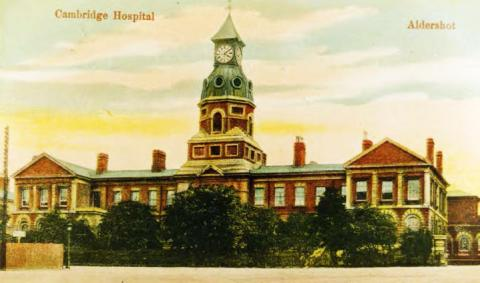 1875 Cambridge Military Hospital