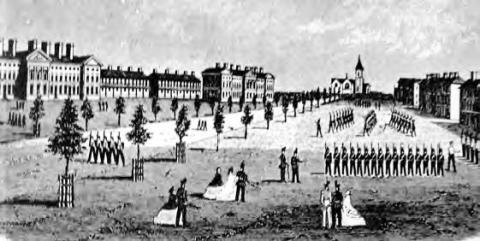 1890 Permanent Brick Camp