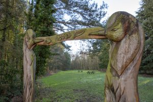 Wood Sculptures © Wellesley Woodlands