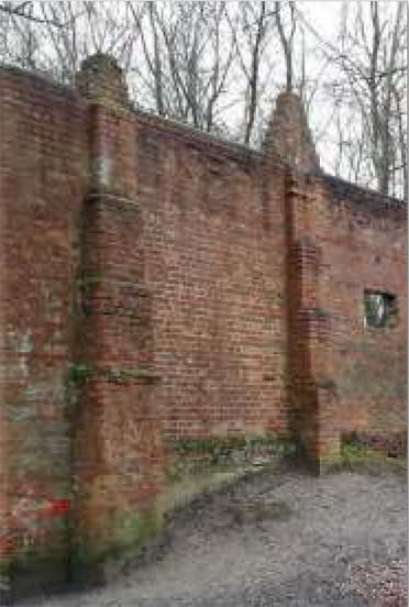Firing Wall WWII © Wellesley Woodlands