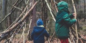 Wild Families: Bushcraft © The Conservation Volunteers