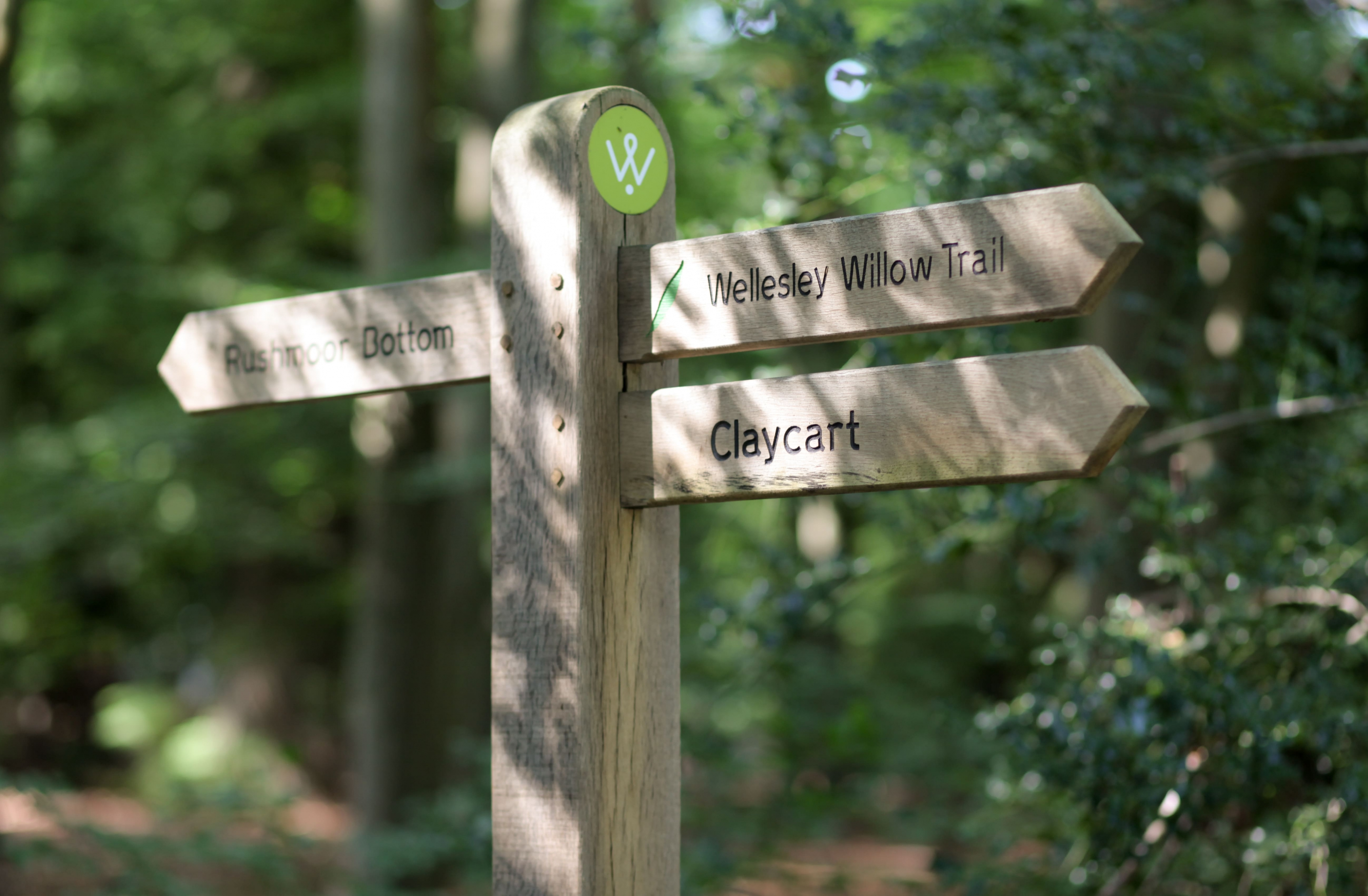 Signs in Wellesley Woodlands