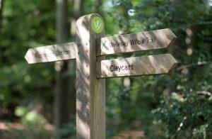 Signs in Wellesley Woodlands